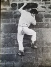 Terrace Wall Nottingham University c1981