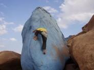 Dave in blue desert