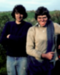 Mike Morrison and Mick Fowler still smiling during their period of regular north coast explorations