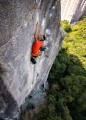 """This Photo was taken when Paul climbing on """"Evolution"""" 7c+ at Monkey Buttress, Hong Kong<br>© Tony Cheung"""