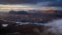 Suilven, Canisp & Quinag (from Cul Mor)