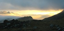 Langdale Sunrise from Esk Hause