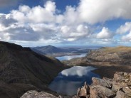 Loch dubh from A, Mhaighdean Fisherfield