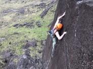 Pitch 1 Skye wall