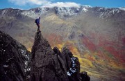 Pinnacle Ridge 2, St Sunday Crag, Lakes<br>© Sean Kelly