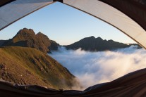 Room with a view on An Teallach