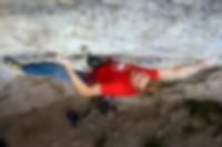 Jakob Schubert climbing Clash of Titans 9a+, Götterwandl.