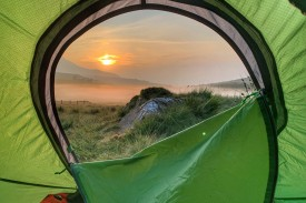 The amazing view from my tent from an absolutely dismal wild camp..., 874 kb