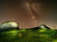 Bit of stargazing at Haytor Rocks