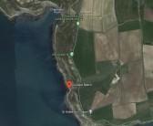 Google maps of Eustace beach between Chapman's pool and St.Aldhelms head.