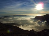 Taken from the highest place in England... even higher than the clouds!<br>© Adam Booth