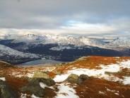 Arrochar Alps from Ben Lomond