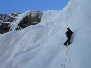 A very long, direct version of the big pitch - longer than the ropes, that is.....