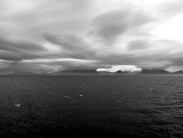 Cuillin from Small Isles Ferry