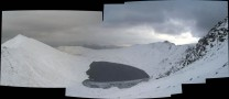 Swirral edge, red tarn and striding edge