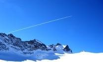 Alpine blue skies