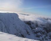 Tower Ridge from Ben Nevis