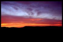 Sunset from La Mussara