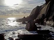 Evening light at Gull rock - Marsland