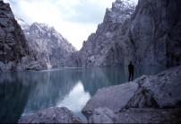 Unclimbed walls, Gory Sarybeles, Kyrgyz border with China