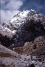 Unclimbed face of ca.4600m peak, Khrebet Kyokkiar, KS