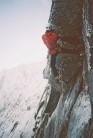 Alan Mullin making the first winter ascent of Crazy Sorrow, Lochnagar