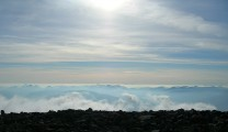 Above the clouds on Ben Nevis