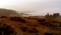 Ilkley in the fog
