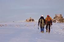 Summit walk to the Ben
