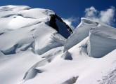 Climbers descending Bosses ridge of Mt. Blanc<br>© TonyM