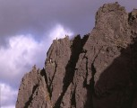Mitre Ridge, VS, Bheinn a Bhuird<br>© Gordon Stainforth, June 1990