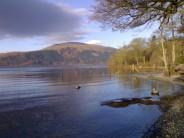 Loch Lomond in winter