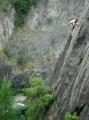 Chris Dale, Mallice in wonderland E3 5c, Hodge Close Quarry<br>© jimkeeley