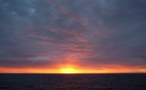 Just before sunrise, Norway