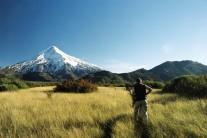 Walking in to Volcan Lanin