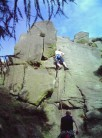 Jay leading Yong at the Roaches