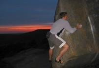 Sunset Bouldering