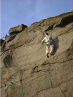 Unknown climber on Scoop Face