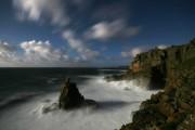 Sennen and Irish Lady Cove. Phot taken by moonlight.<br>© stuart100