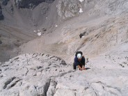 On the top pitch of El Naranjo de Bulnes