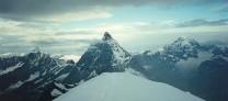 Matterhorn E. face from summit of Breithorn