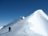 Approaching the summit of The Butterfly