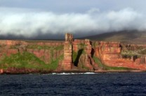 Old Man of Hoy from ferry