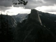 Storm over Half Dome