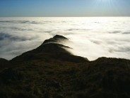 Late afternoon - Low Pike from High Pike, Cumbria.