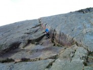 Chimney Crack, Little Tryfan