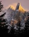 The Storm Clears, Les Dru, Chamonix.<br>© ChrisJD