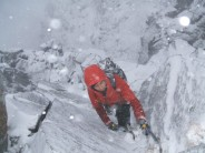 First Ascent of Lairig Rib (II).