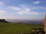 View from Haytor towards Hound Tor