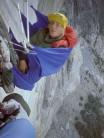 Old school big walling: hammock bivi, Zodiac, El Capitan